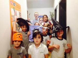 Alumnos hallowen 2014